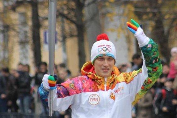 Олимпийский огонь олимпиады «Сочи 2014» побывал в Твери