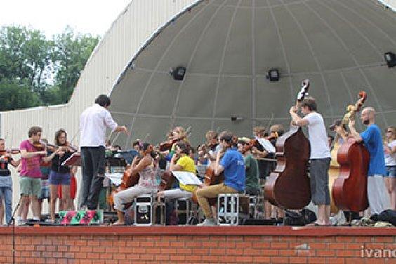 Уличный оркестр «Ricciotti Ensemble»