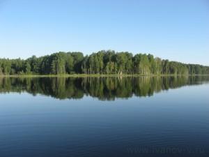 Озеро Волго. Небо, Земля, Вода.