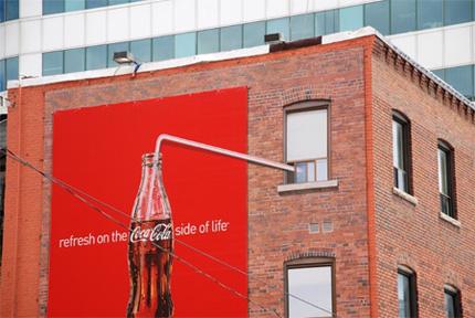 реклама кока-колы
