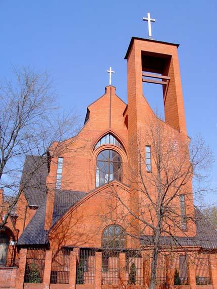 Католический Храм в городе Твери, автор проекта – А.Е. Жоголев