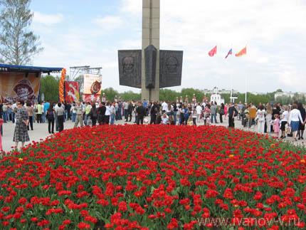 Празднование 65-летия со Дня Победы в Великой Отечественной войне в Твери