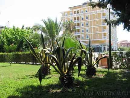 отель Hotel Antik & Garden, Турция – Аланья