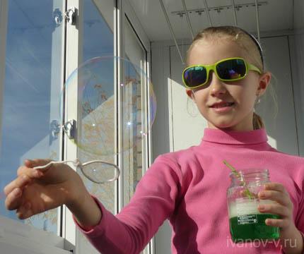 мыльные пузыри – малобюджетное получение удовольствия и радости