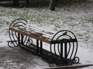 в Твери выпал первый снег
