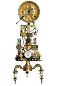 Часы подсвечник