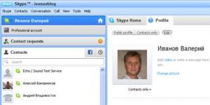 программа Skype
