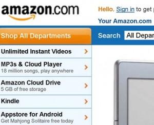 Покупки в Интернет магазине Amazon