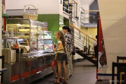 кафе в музее Экспериментаниум
