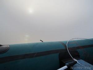 туман на озере Волго