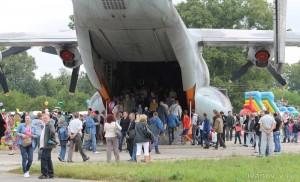 Праздник 100-летие авиации ВВС в Мигалово, в самолете
