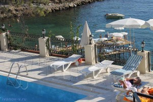 Отель Aska Buse Resort - территория