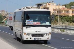 Заметки о Турции долмуш турецкие маршрутки