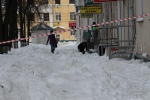 Снегопад в Твери