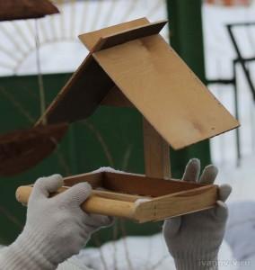 конструкции кормушки для птиц