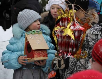призеры конкурса кормушек для птиц в ботаническом саду Тверского госуниверситета
