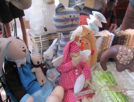 Мягкие игрушки от мастеров hand made