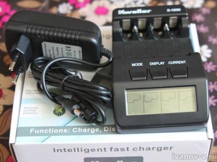 внешний вид - умное зарядное устройство Kweller X-1800