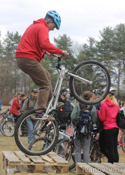 Открытие велосезона 2013, триал