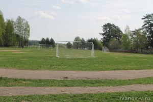 футбольное поле в лагере «Компьютерия»