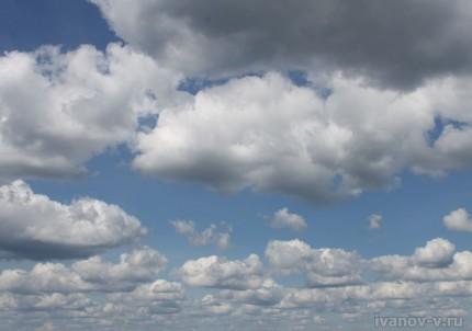 облака над озером Волго