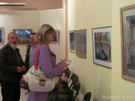 Выставка графики Андрея Юдина