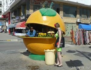 фруктовая лавка в Хургаде