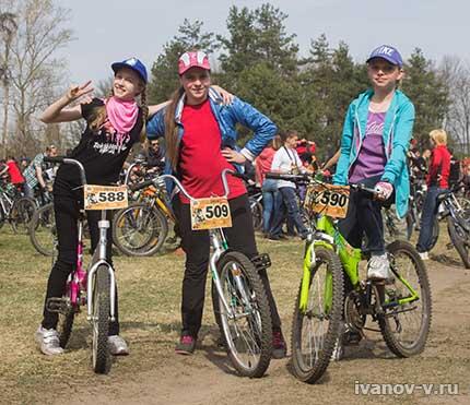 на открытии велосезона 2014 в Твери