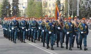 МЧС на параде в Твери