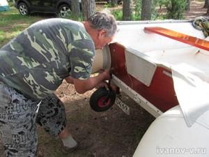 колеса на лодку