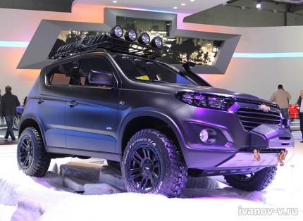 concept Chevrolet Niva