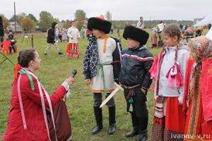 интервью у детей на Новолетии