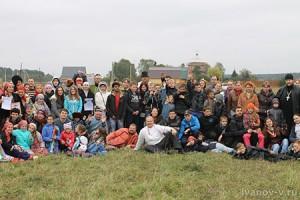 общая фотография с празника Новолетие в Пречистом Бору
