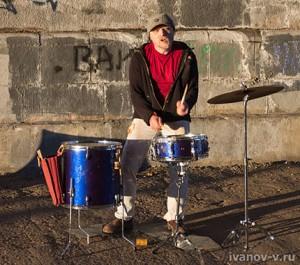 Сергей Локтев - уличный концерт