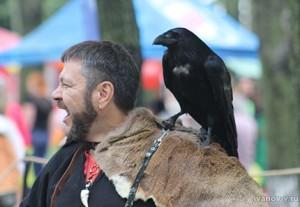 ворон и хозяин