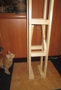 самодельный домик для кота