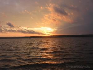 закаты на Волго
