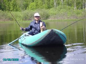 на озере Волго поймал щуку на 2,5 кг