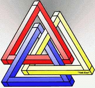 Невозможное сплетение треугольников