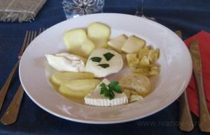 Сырная тарелка Piatto di formaggi misti della casa