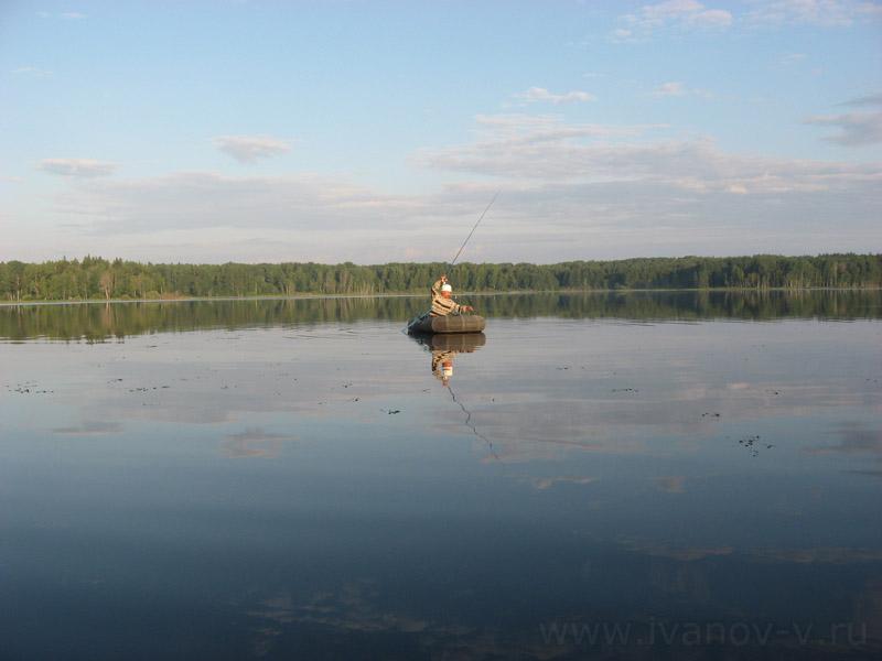 рыбалка на реке селигер