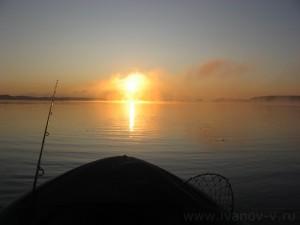Озеро Волго. Рассвет.