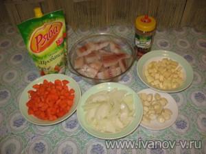 подготовка продуктов