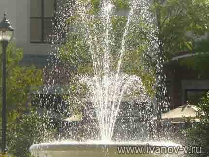 Жизнь бьет фонтаном