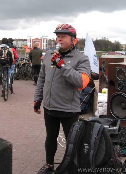 Алексей Шабашов – один из активистов развития велодвижения в Твери