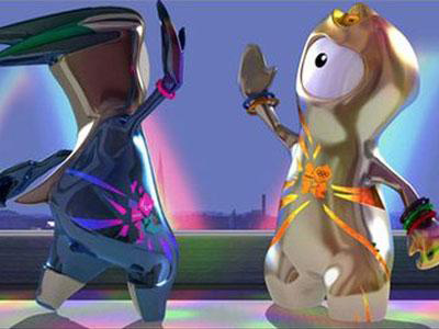 Уэнлок и Мандевиль – анимационные персонажи летних Олимпийских игр 2012 года в Лондоне