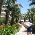 Жаркое лето и воспоминания об отпуске