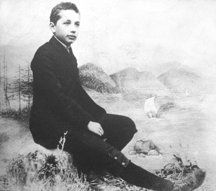 Альберт Эйнштейн в юности