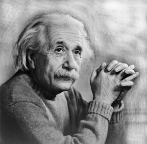 Альберт Эйнштейн в возрасте