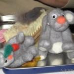 Валяные игрушки